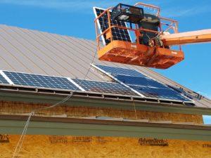 Solar installation by Milhouse Enterprises. Photos courtesy of Chris Milner