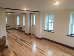 Retail/office rental space in the EFG building.