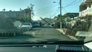 Near San Juan, it is still wreckage, October 30, 2017.  Photo courtesy of Joseph Mangum