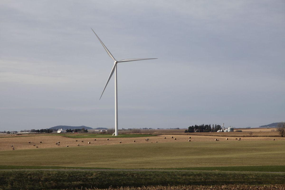 Wisconsin farmland (Dairyland Power Cooperative image)
