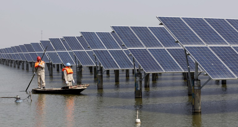 World's biggest floating solar project