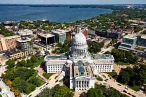 Madison, WI, one of the largest cities in the Midwest, is leading the region in committing to renewables. Photo courtesy of Pixabay