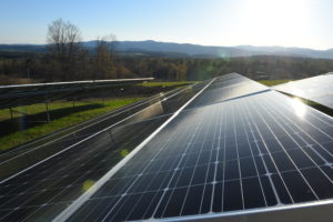 Gore recently entered into a PPA of a massive 5.325MW solar system consisting of 14,589 ground-mounted solar panels located on 20 acres of farmland. Courtesy photo.