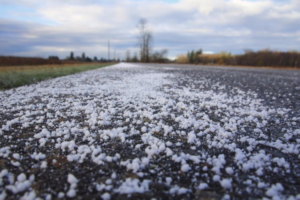 Deicing winter roads by applying salt is poisoning Vermont's ecosystems, and experts say it's over-salting by private contractors in parking lots and other urban areas that are increasingly the source of the salt. Modfos / iStock