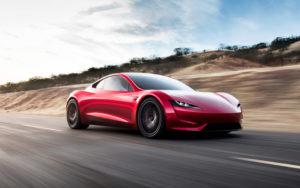 Tesla Roadster 2.0. Tesla image.