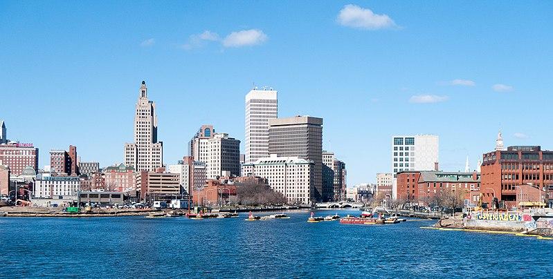 Providence skyline (Kenneth C Zirkel, Wikimedia Commons)