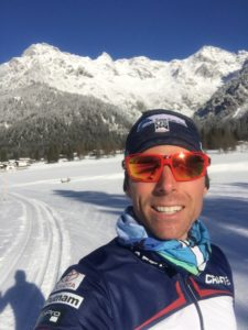Team USA's Andy Newell on Sustainability at PyeongChang 2018 and Beyond. Andy is from Shaftsbury, Vermont. Image courtesy of Andy Newell.