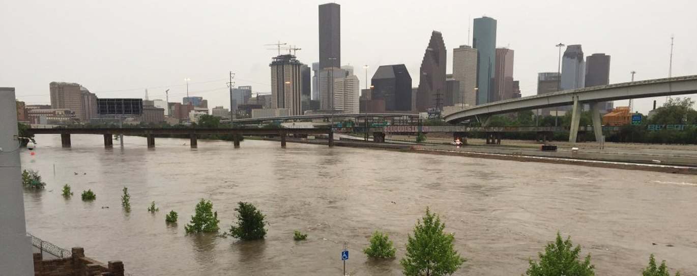 The damages to the infrastructure of Houston, Texas were massive and long-lasting from Hurricane Harvey. Image: transgriot.blogspot.se