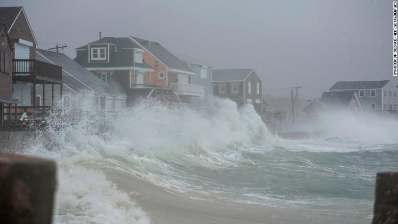 Normal high tides to be as high as today's storm surges (Ryan McBride | AFP | Getty Images)