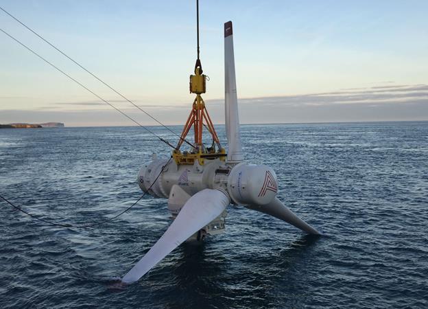 Atlantis tidal turbine (Atlantis image)