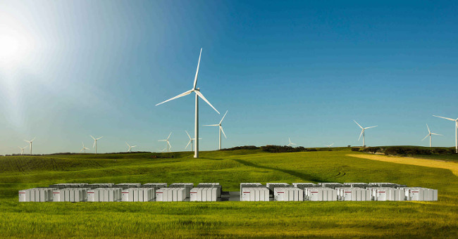 Tesla battery system in South Australia