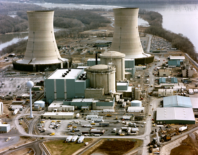 Three Mile Island nuclear plant (US DOE image)