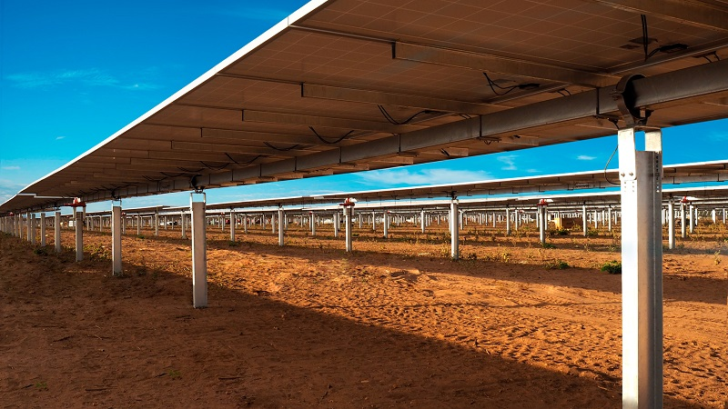 Solar array (Soltec image)
