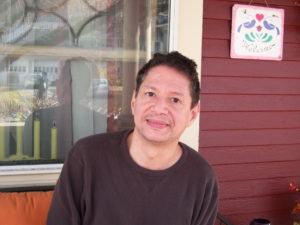 Miguel Orantes of Bellows Falls received much needed michael@snowdogvermont.com weatherization assistance from SEVCA.