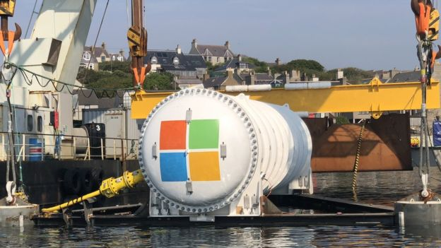 New Microsoft data center