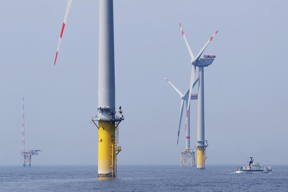 Offshore wind farm (Sean Gallup | Getty Images)