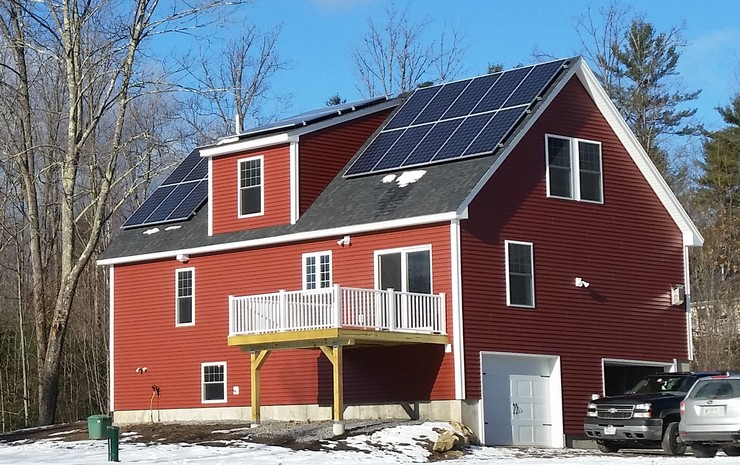 Zero Energy Home Built By Homes For A Lifetime Llc With 7kw Solar